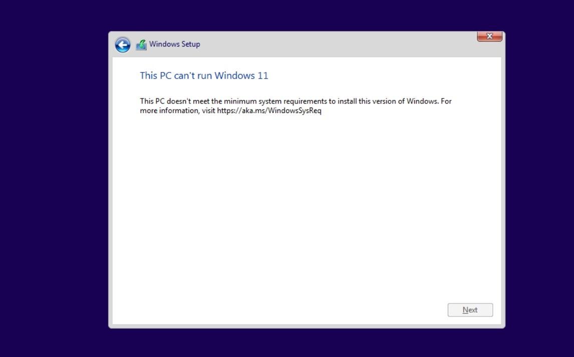 Cant-run-Windows-11-error