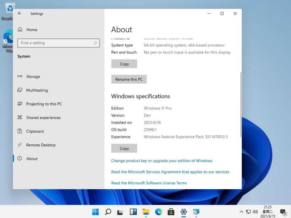 Microsoft-Windows-11-settings