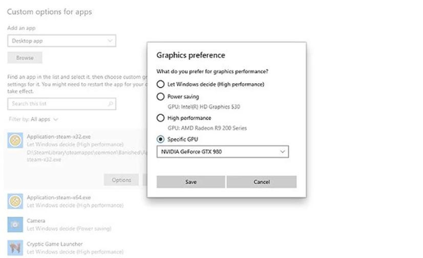 Specific-GPU