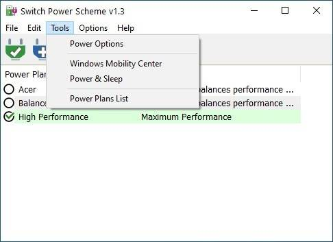 Switch-Power-Scheme-tools-menu
