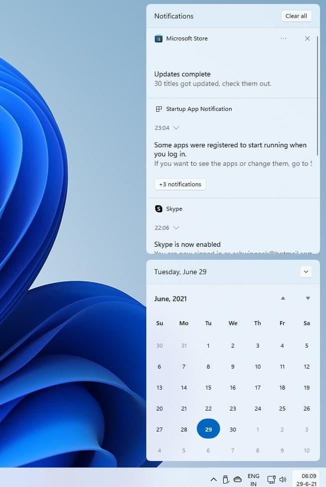 Windows-11-Notifications-Panel-and-Calendar