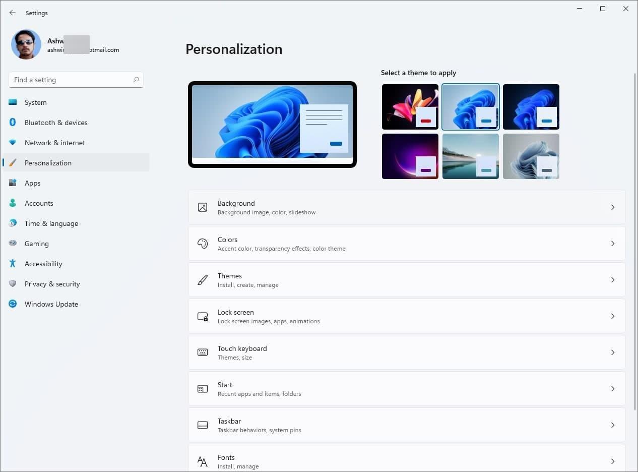 Windows-11-Themes-Personalization