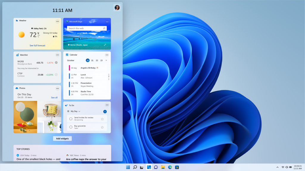 Windows-11-Widgets