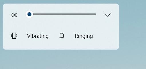 Windows-volume-flyout