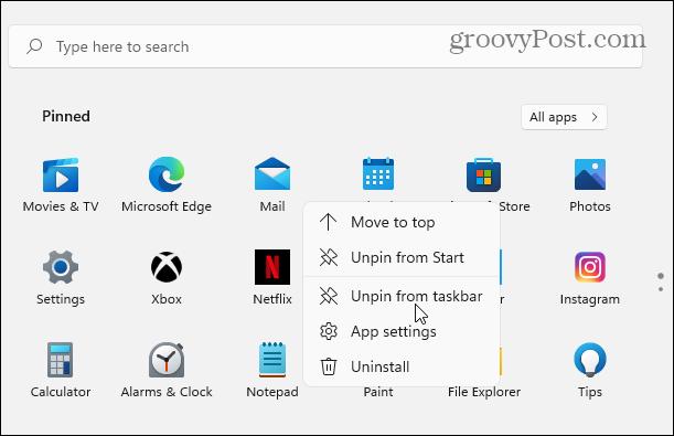 unpin-app-from-taskbar-windows-11-1