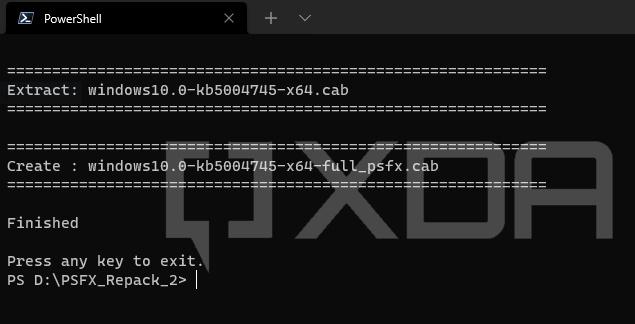 Windows-LCU-PSFX-Repack