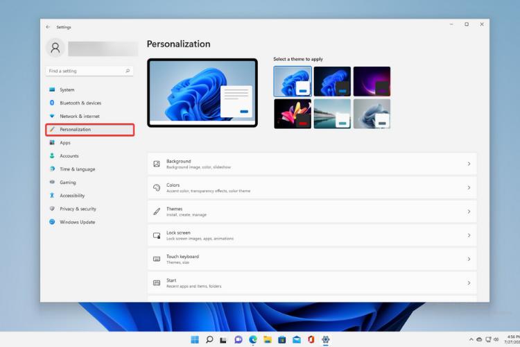 Personalization-Win-11