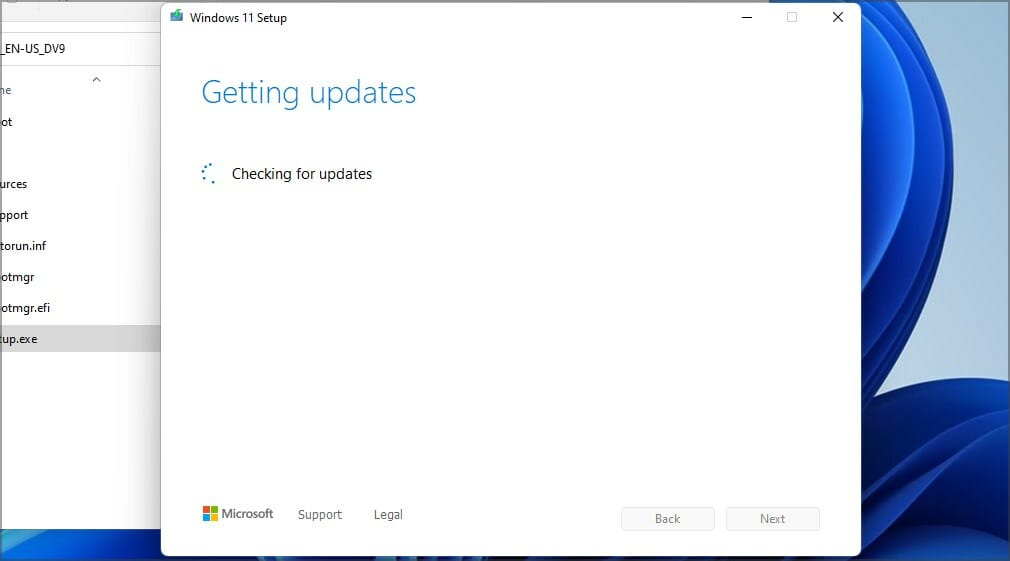 checking-for-updates-w11-installation