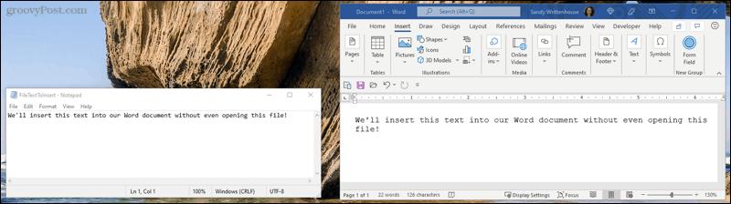 InsertText-WordEmbedFile